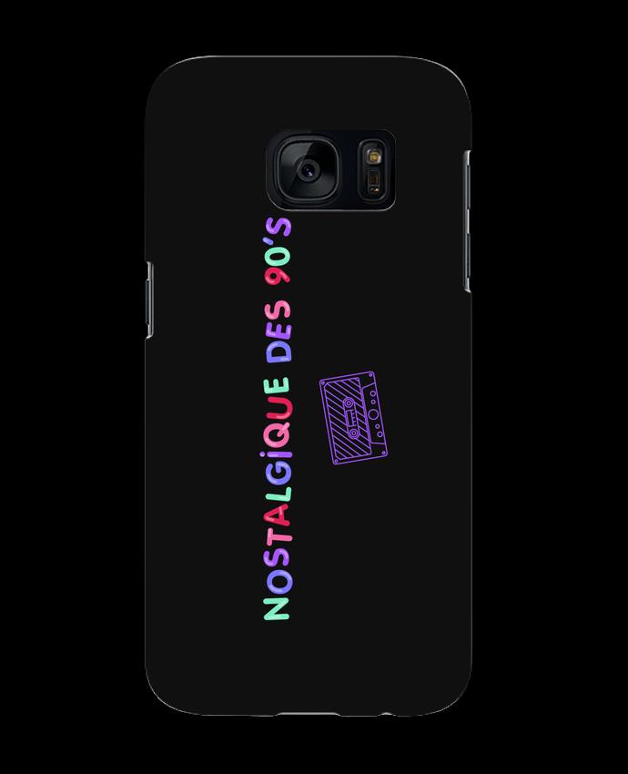 Coque 3D Samsung Galaxy S7 Nostalgique 90s Cassette par tunetoo