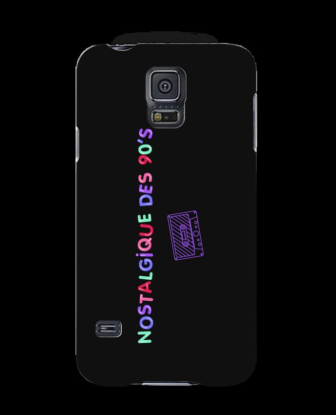 Coque 3D Samsung Galaxy S5 Nostalgique 90s Cassette par tunetoo