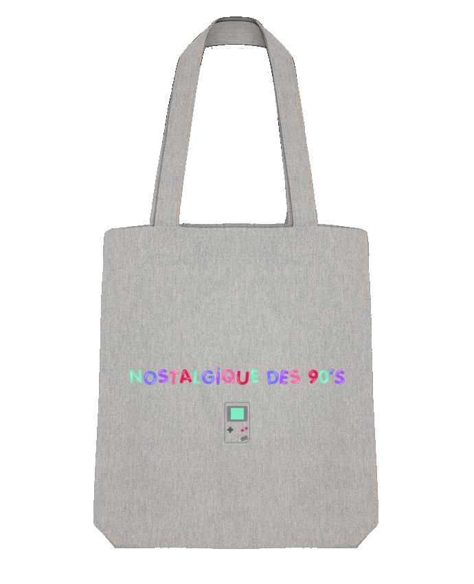 Tote Bag Stanley Stella Nostalgique 90s Gameboy par tunetoo