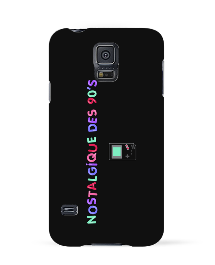 Coque 3D Samsung Galaxy S5 Nostalgique 90s Gameboy par tunetoo