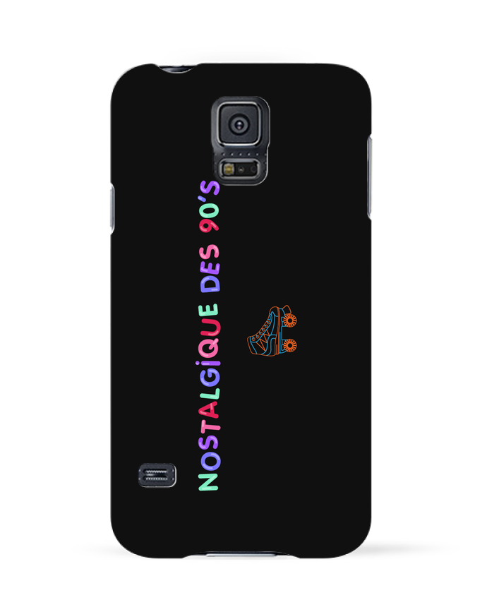 Coque 3D Samsung Galaxy S5 Nostalgique 90s Roller par tunetoo