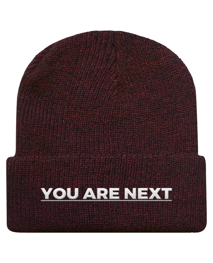 Bonnet Revers Beanie Héritage You are next par tunetoo