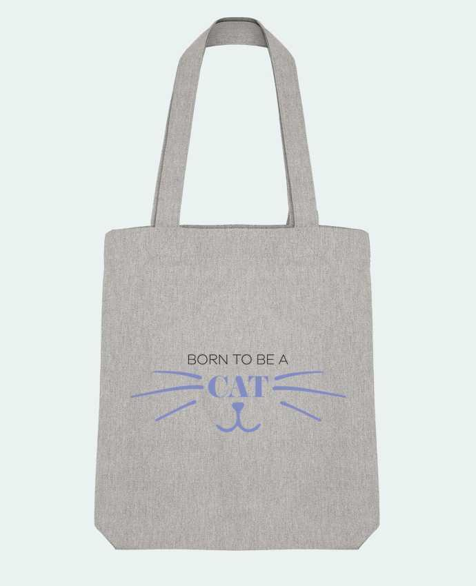 Tote Bag Stanley Stella Born to be a cat par tunetoo
