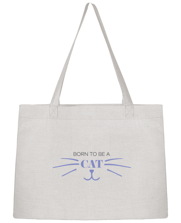 Sac Cabas Shopping Stanley Stella Born to be a cat par tunetoo