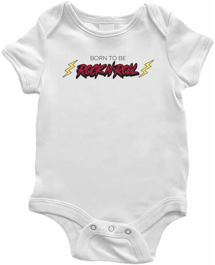 Body Bébé Born to be rock n roll par tunetoo