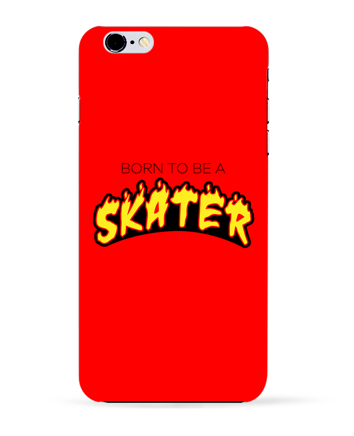 2946166 coque 3d iphone 6 plus blanc born to be a skater by tunetoo