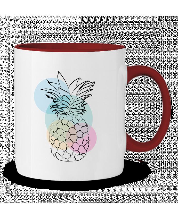 Mug en Céramique Bicolore Petit'anana Nina