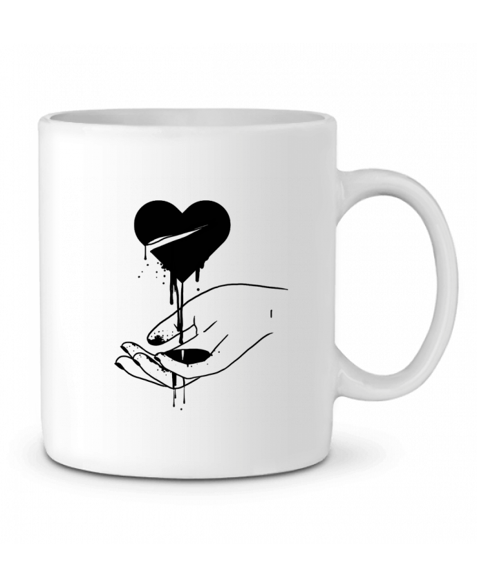 Mug en Céramique COeur qui coule par tattooanshort