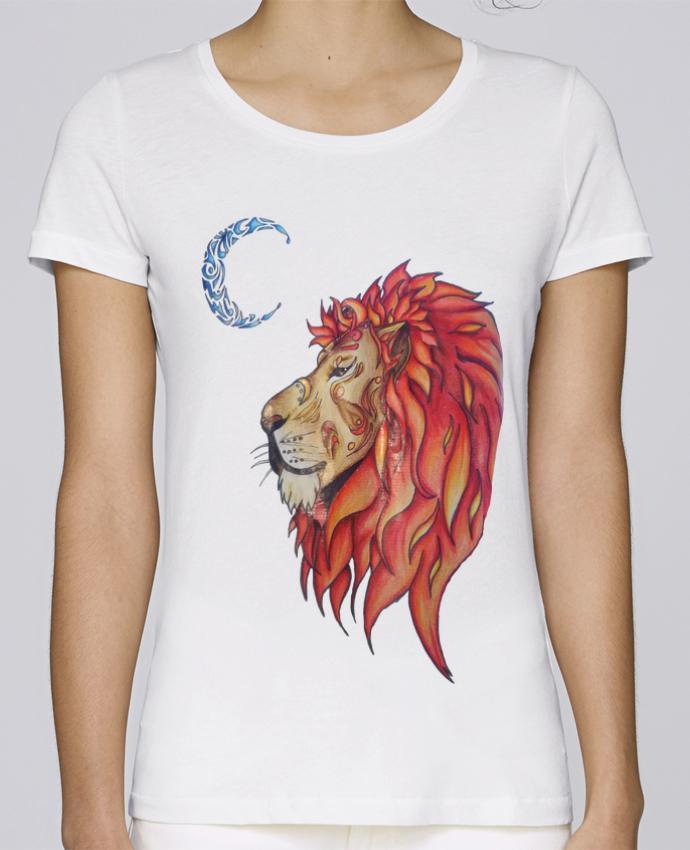 Stella Shirt Par Femme T Loves Lion Marie L'illustratrice PkXOiwZuT