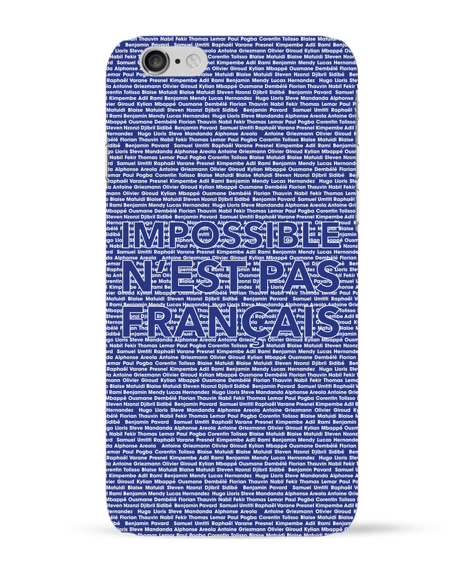 Coque 3D Iphone 6 Impossible n