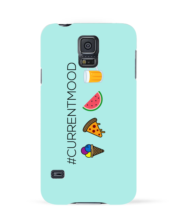 Coque 3D Samsung Galaxy S5 #Currentmood par tunetoo