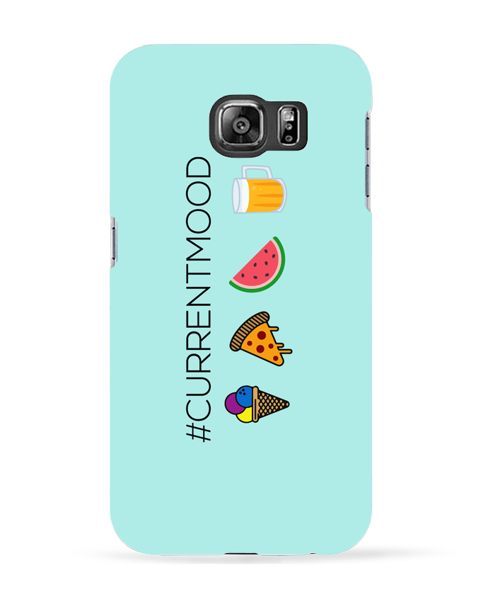 Coque 3D Samsung Galaxy S6 #Currentmood - tunetoo