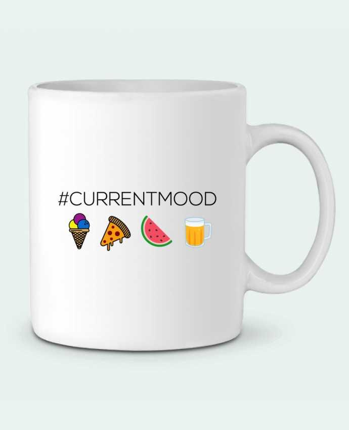 Mug en Céramique #Currentmood par tunetoo
