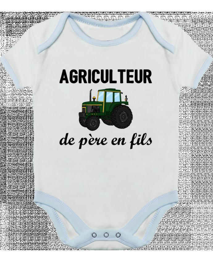 Body Bébé Contrasté Agriculteur de père en fils par tunetoo