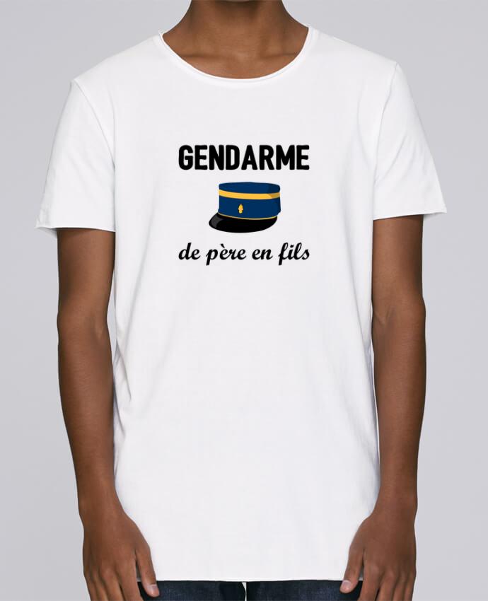 T-shirt Homme Oversized Stanley Skates Gendarme de père en fils par tunetoo