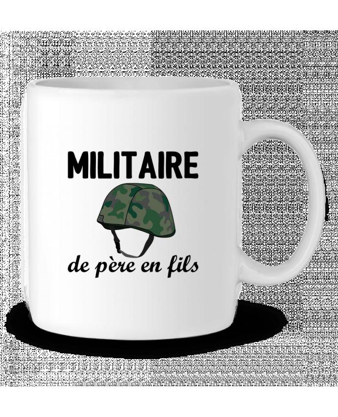 Mug en Céramique Militaire de père en fils par tunetoo