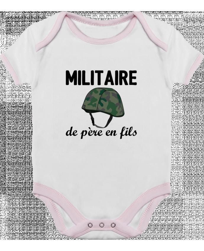 Body Bébé Contrasté Militaire de père en fils par tunetoo