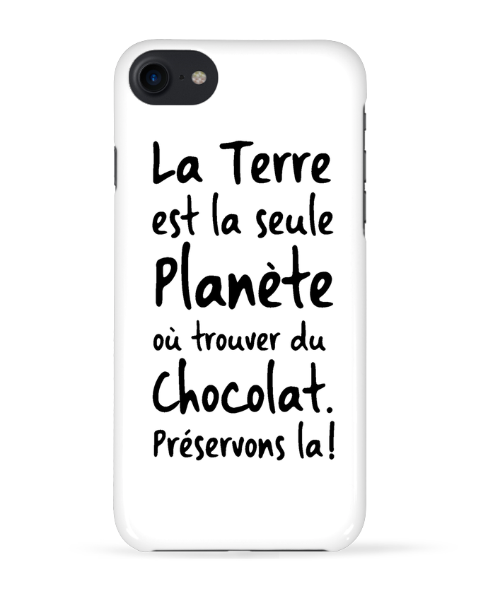 iphone 7 coque chocolat