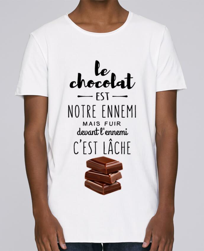 T-shirt Homme Oversized Stanley Skates chocolat par DesignMe