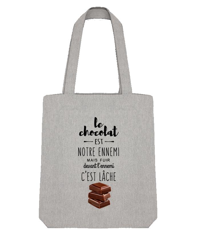 Tote Bag Stanley Stella chocolat par DesignMe