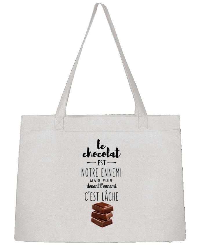 Sac Shopping chocolat par DesignMe