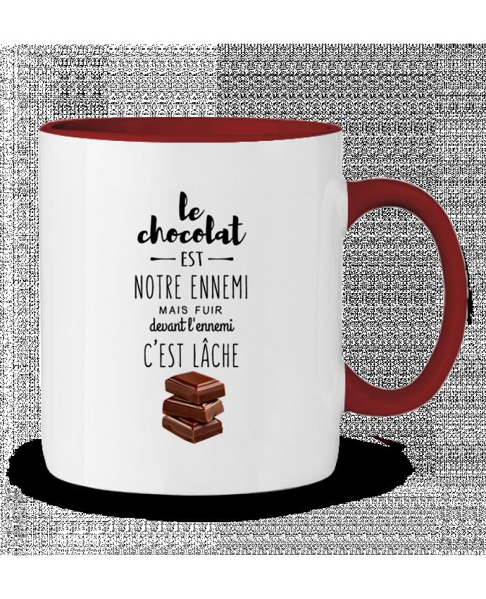Mug en Céramique Bicolore chocolat DesignMe