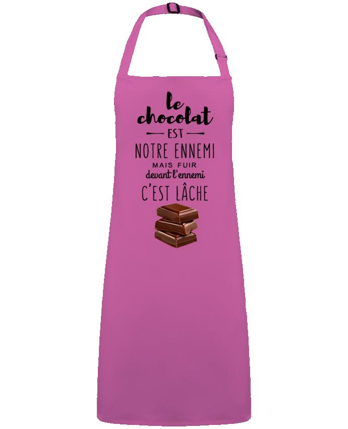 Tablier Sans Poche chocolat par  DesignMe