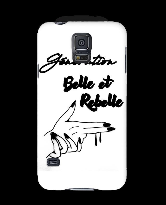 Coque 3D Samsung Galaxy S5 génération belle et rebelle par DesignMe