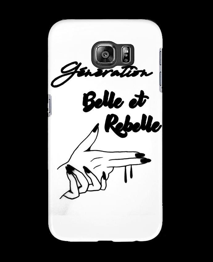 Coque 3D Samsung Galaxy S6 génération belle et rebelle - DesignMe