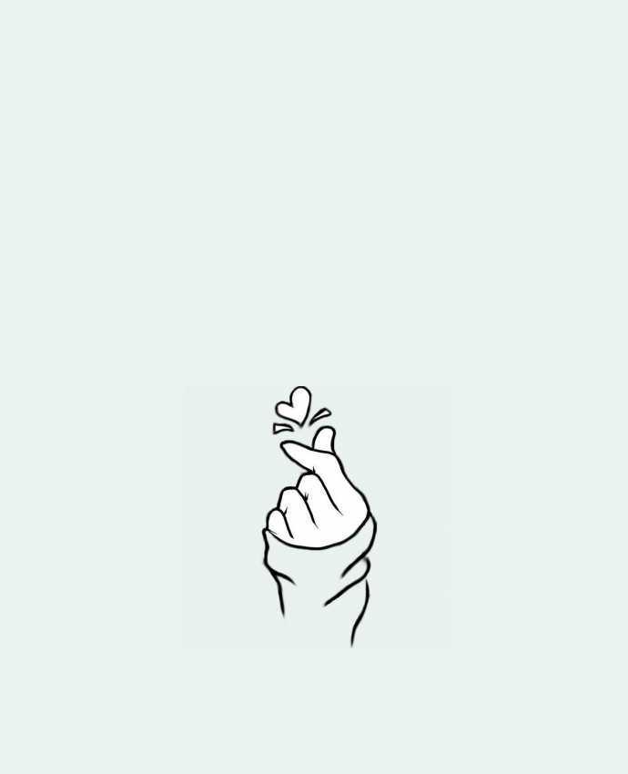 Sac en Toile Coton love par DesignMe