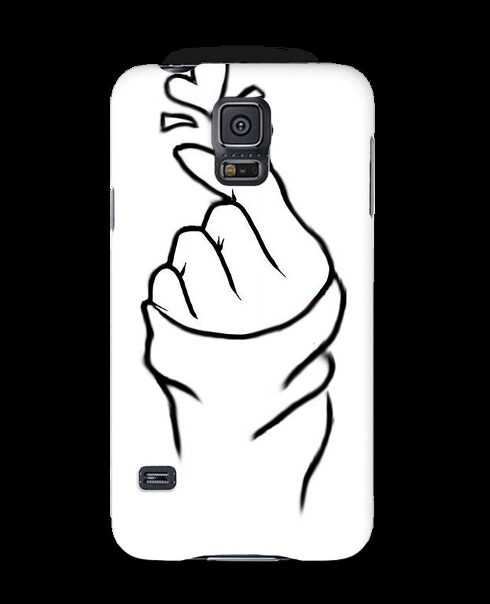 Coque 3D Samsung Galaxy S5 love par DesignMe
