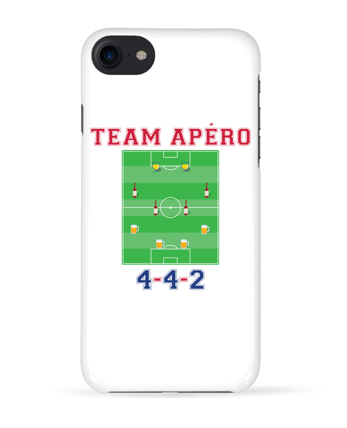 Coque 3D Iphone 7 Team apéro football de tunetoo