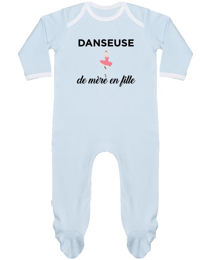 Pyjama Bébé Manches Longues Contrasté Danseuse de mère en fille par tunetoo