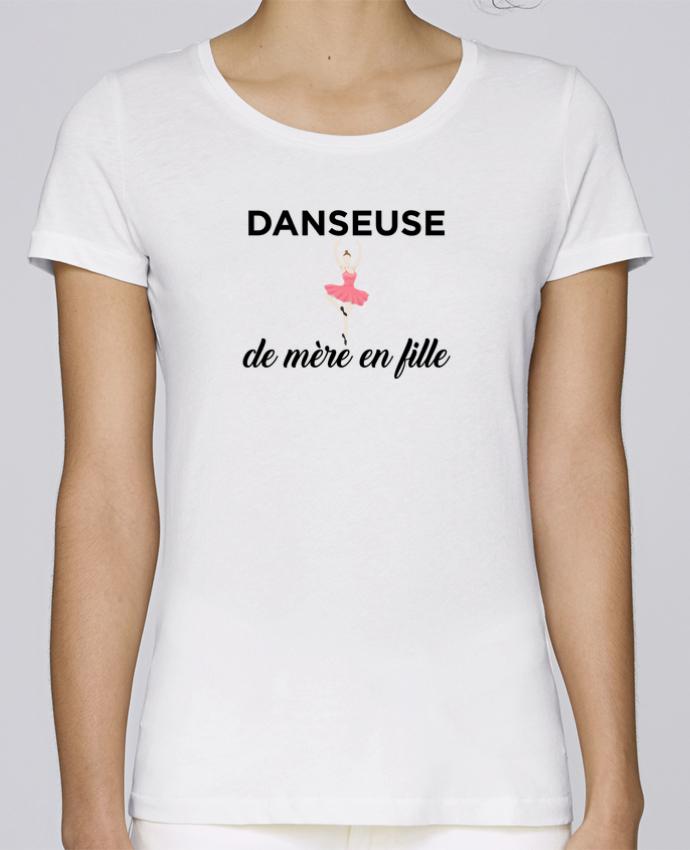 T-shirt Femme Stella Loves Danseuse de mère en fille par tunetoo