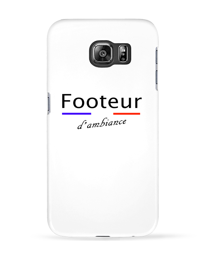 Coque 3D Samsung Galaxy S6 FOOTEUR D'AMBIANCE - Tee Smiles