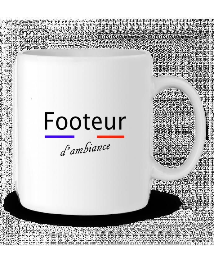 Mug en Céramique FOOTEUR D'AMBIANCE par Tee Smiles