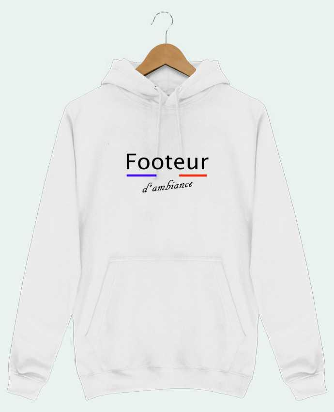 Sweat Shirt à Capuche Homme FOOTEUR D