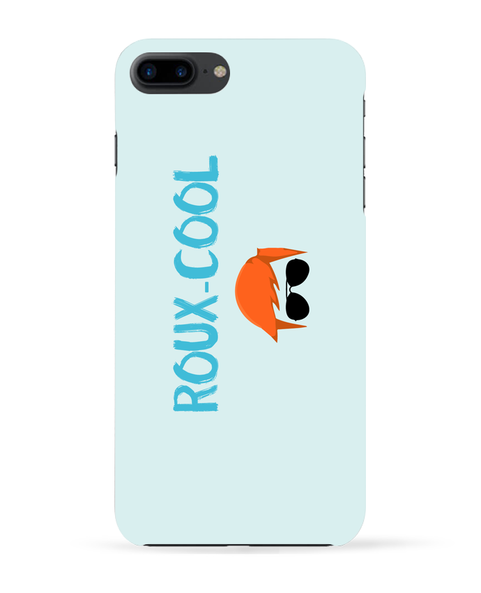 Coque 3D Iphone 7+ Roux-cool par tunetoo