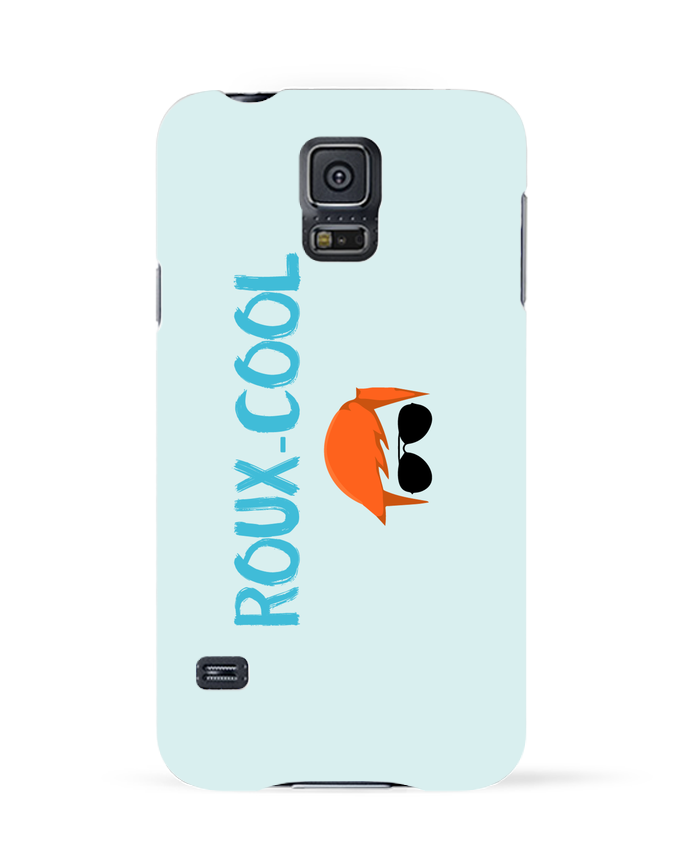 Coque 3D Samsung Galaxy S5 Roux-cool par tunetoo