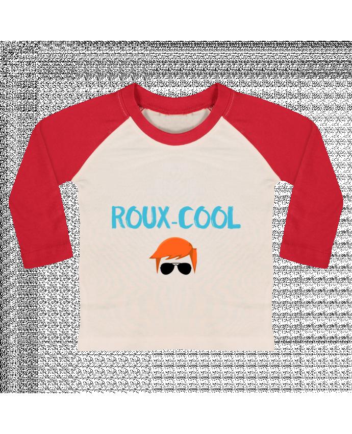 T-shirt Bébé Baseball Manches Longues Roux-cool par tunetoo