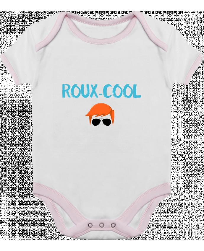 Body Bébé Contrasté Roux-cool par tunetoo