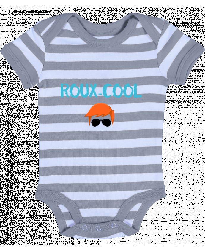 Body Bébé à Rayures Roux-cool - tunetoo