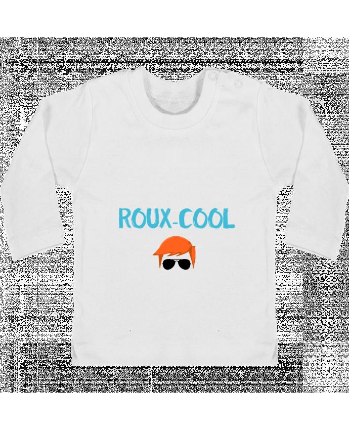 T-shirt Bébé Manches Longues Boutons Pression Roux-cool manches longues du designer tunetoo