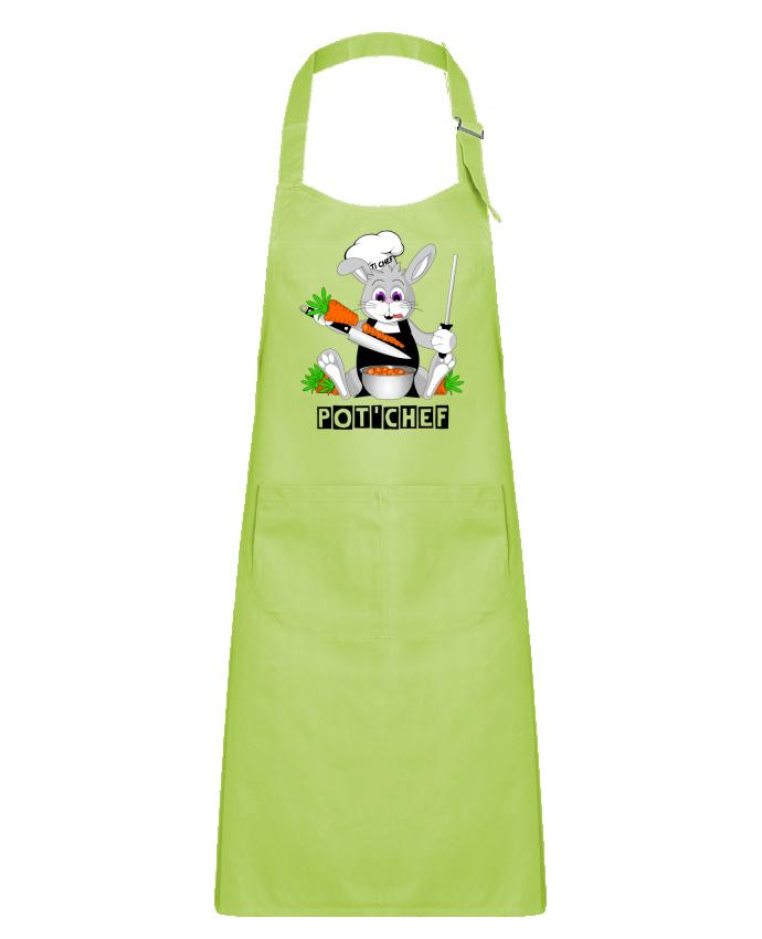 Tablier Enfant avec Poche Lapin Pot'Chef par CoeurDeChoux