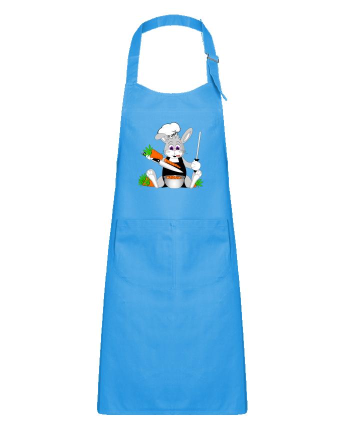Tablier Enfant avec Poche Lapin Pot'Chef - sans typo par CoeurDeChoux