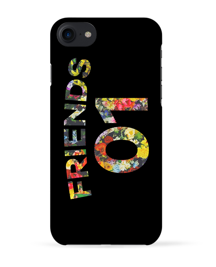 Coque 3D Iphone 7 BEST FRIENDS FLOWER 2 de tunetoo