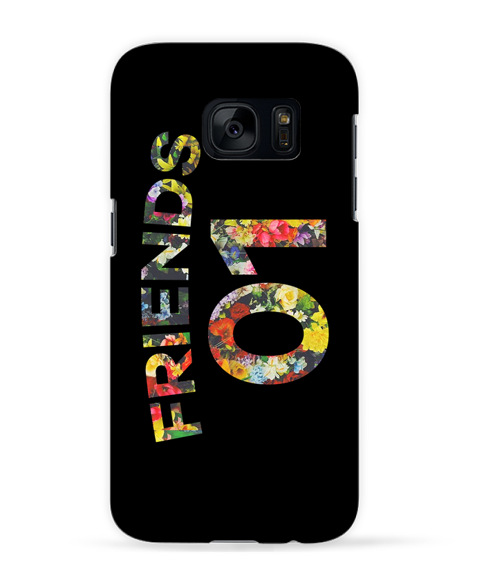 Coque 3D Samsung Galaxy S7 BEST FRIENDS FLOWER 2 par tunetoo