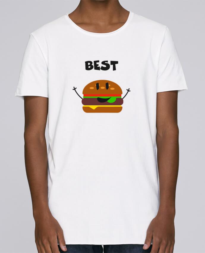 T-shirt Homme Oversized Stanley Skates BEST FRIENDS BURGER 1 par tunetoo