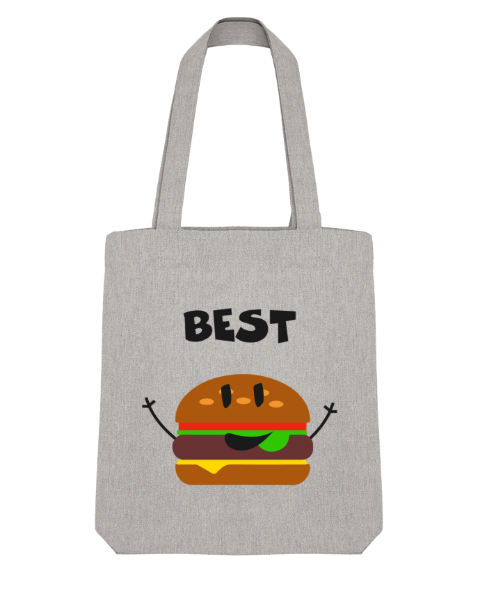 Tote Bag Stanley Stella BEST FRIENDS BURGER 1 par tunetoo