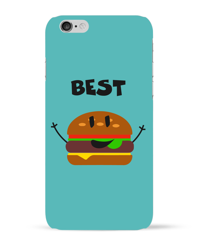 3094928 coque 3d iphone 6 blanc best friends burger 1 by tunetoo
